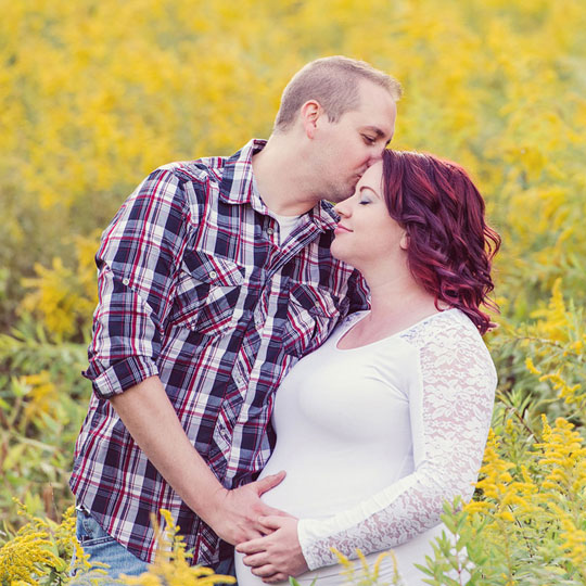 Meghan & Kurt's Maternity Session | Erie PA Maternity Photography
