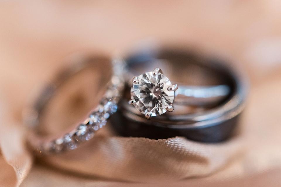Erie Wedding Photography, Wedding Rings