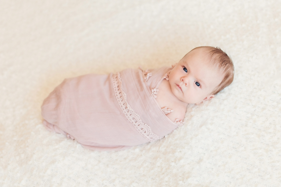 Vintage Baby Newborn Photography