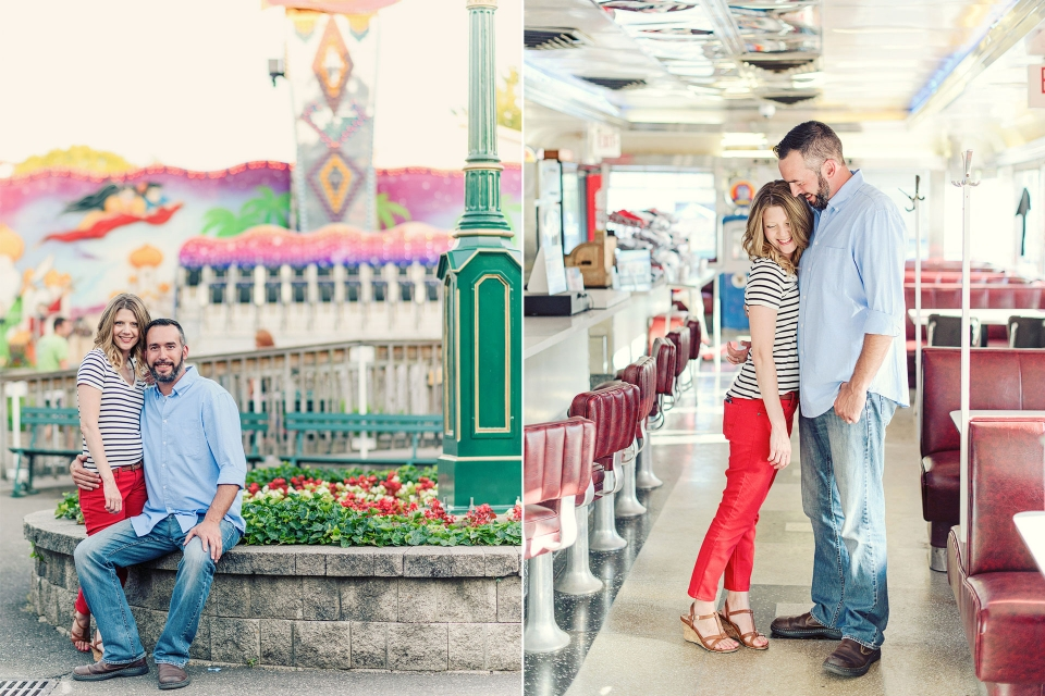 Waldameer Park, Erie PA Engagement Photography, Rachel Lusky Photography