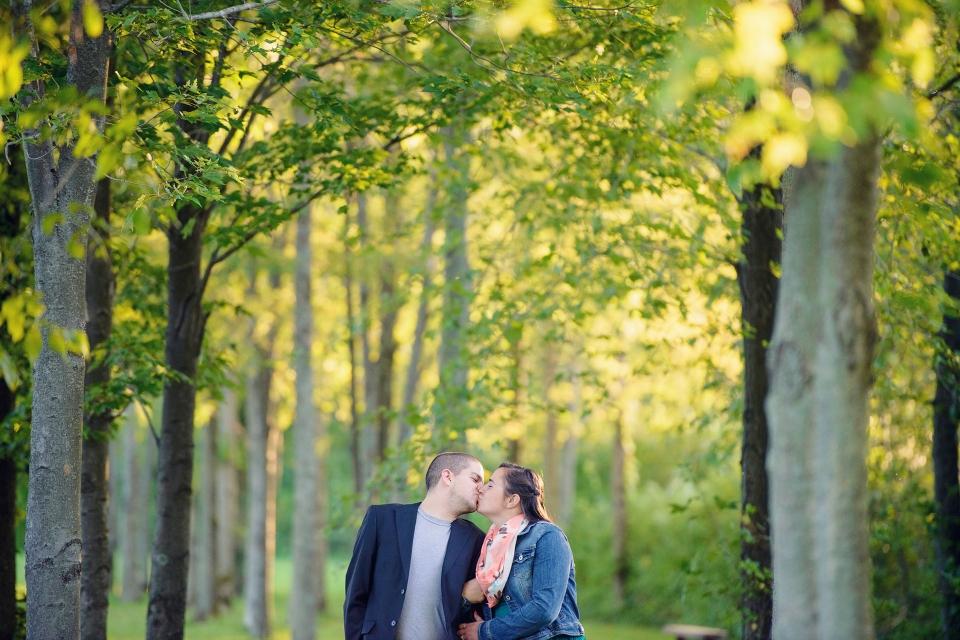 Peninsula Park, Edinboro Engagement Photography, Rachel Lusky Photography