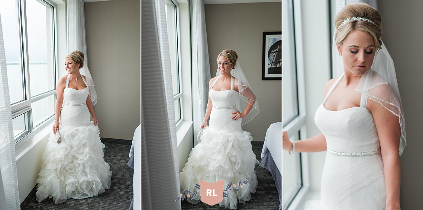 Courtyard Marriot Erie PA, Erie PA Wedding Photography