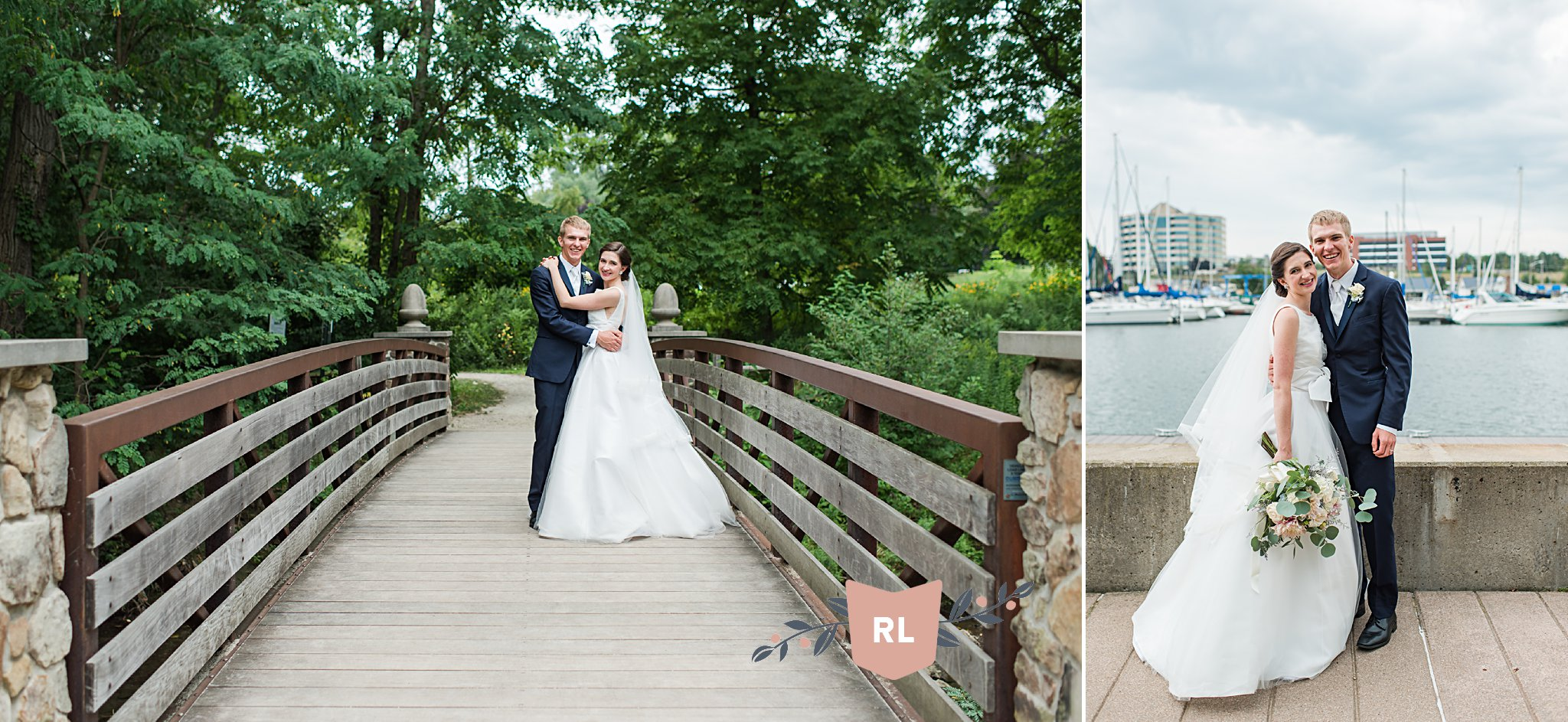Erie PA Wedding Photography, Frontier Park, Classic Wedding